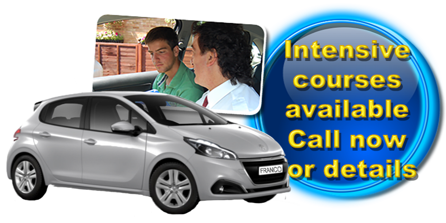 Intensive courses available in Dunstable with Franco´s Driving School!
